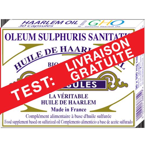 Boite de 30 Gélules Standard OFFRE D'ESSAI AVEC LIVRAISON GRATUITE