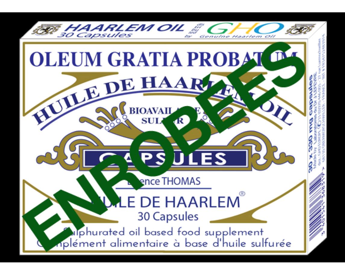 40 Coated Capsule Huile de Haarlem
