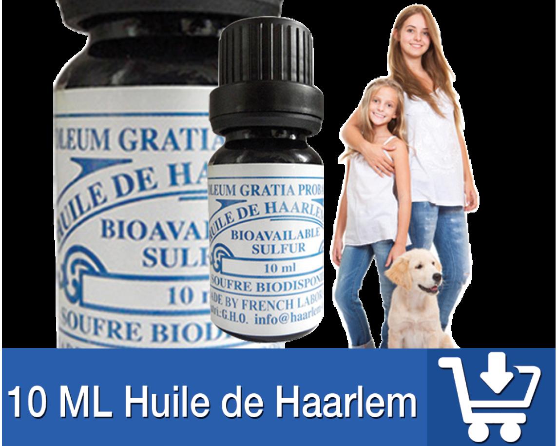 10 Flacon Huile de Haarlem