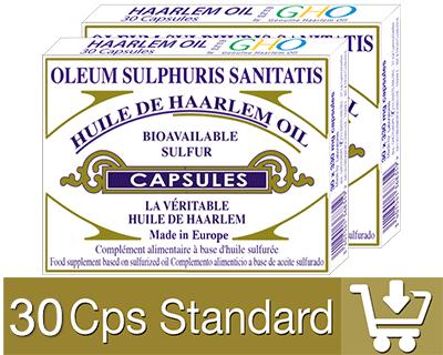 60 Standard Capsule Huile de Haarlem